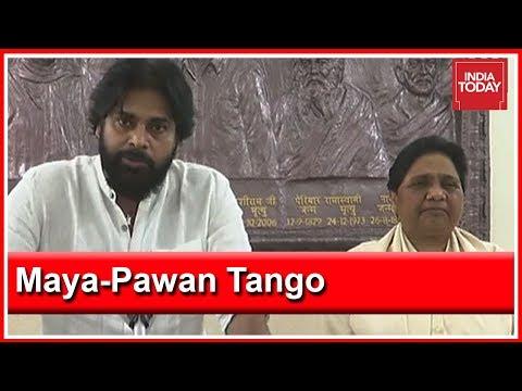 Pawan Kalyan's Jana Sena Ties Up With Mayawati In Andhra Pradesh & Telangana Mp3