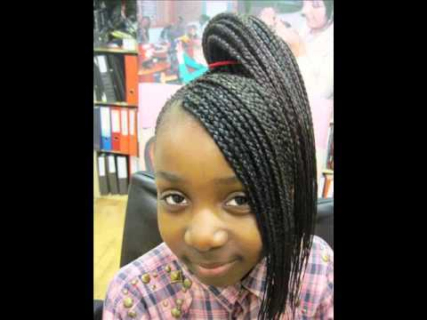 Curly Braided Updo On Natural Hair Braid Styles For Short