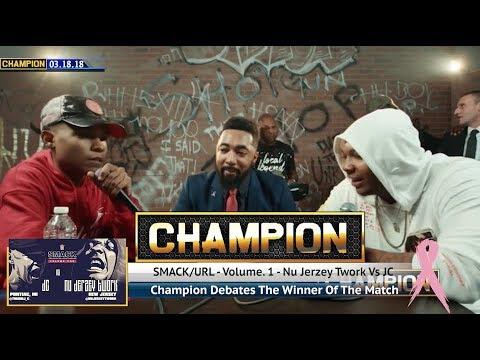 CHAMPION | NU JERZEY TWORK VS JC - SMACK/URL