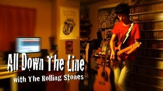 All Down The Line : Rolling Stones Guitar Cover
