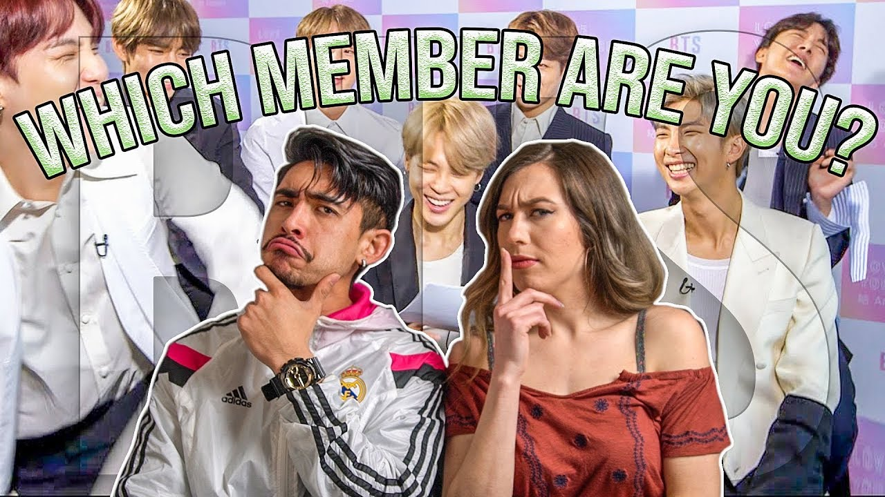 Bf Gf Find Out Which Bts Member They Are Which Bts Member Are You Quiz Youtube