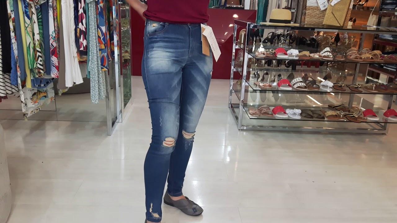 cc078d40b Calça Jeans Kim Super Skinny Dimy - YouTube