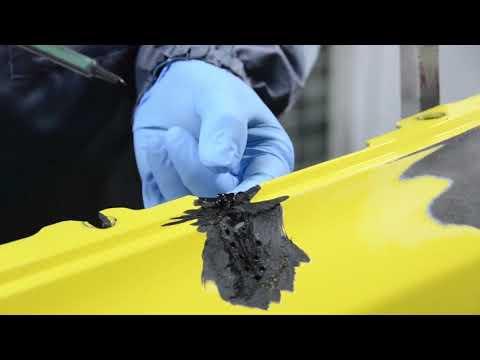 How to repair cracks in your bumper with Finixa plastic repair