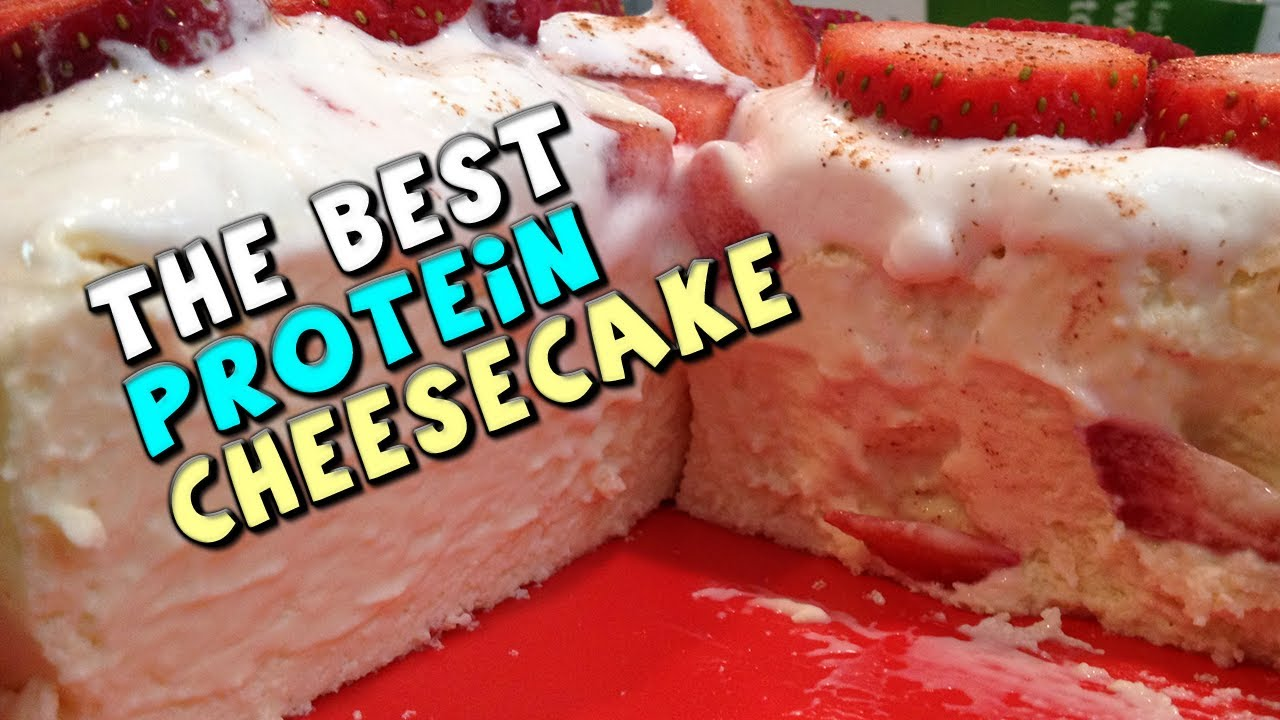The Best PROTEIN Cheesecake Recipe 135g Protein 11g Fat