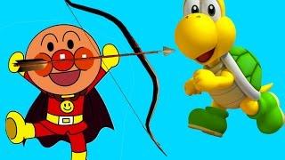 アンパンマンおもちゃ ジャムおじさんのパン工場 [戦争] ANPANMAN Movies