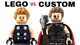 LEGO AVENGERS INFINITY WAR : Official Minifigs vs. Customs - EP4
