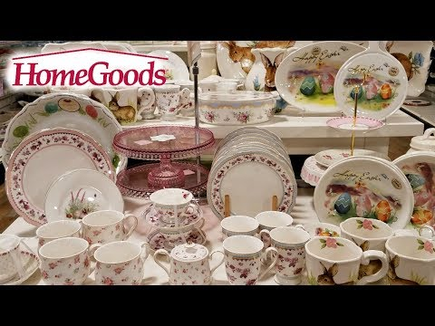 Shop With ME! HOMEGOODS EASTER DECOR KITCHENWARE 2018
