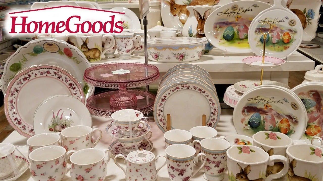 Shop With Me Homegoods Easter Decor Kitchenware 2018