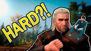 IS THIS GAME ACTUALLY HARD?! - Witcher 3 Enhanced Edition