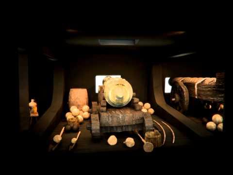 New Mary Rose Museum CGI Flythrough