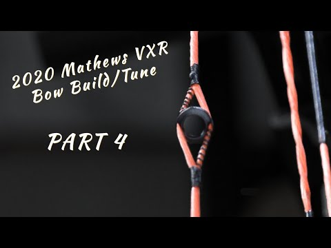VXR Build - Part 4: Align And Tie In Peep Sight