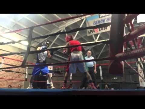 Golden Gloves semi finals fight John 2beltz
