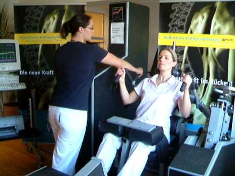 MedX - LE-Therapie bei Rückenschmerz