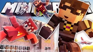 JUMPING OFF A BUILDING!  Minecraft Never Have I Ever!