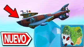 ALL THE SECRETS OF THE NEW NEVADO MAP! A SUBMARINE APPEARS ? FORTNITE BATTLE ROYALE SEASON 7