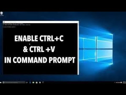How to Enable Copy & Paste in Command Prompt