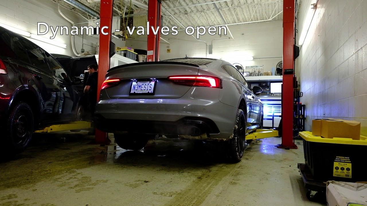 Milltek Sport Exhaust on Audi RS5 Sportback