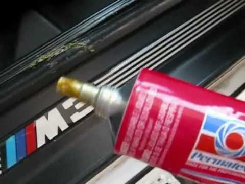 Bmw Door Seal Rubber Gasket Repair By Froggy Youtube