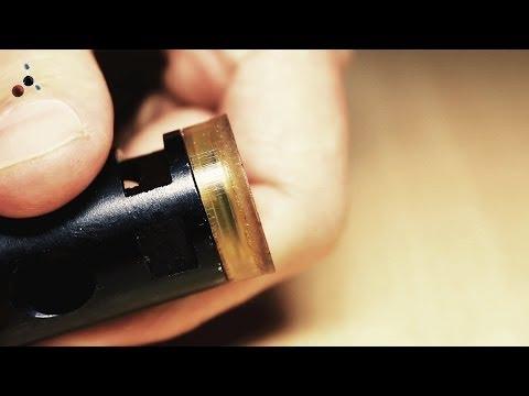 уплотнение изношеной манжеты пневматической винтовки