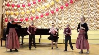 Скачать Томск ДШИ 1 ансамбль Канцона младший состав смешанная группа Х Глюк Анданте И С Бах Мюзетт