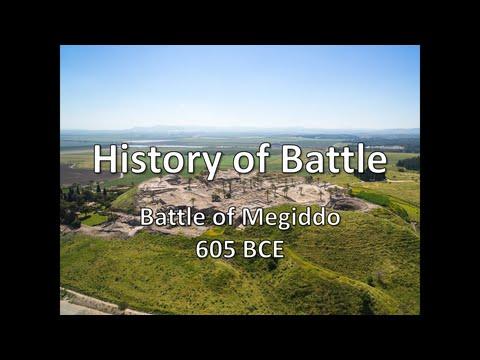 History of Battle - The Battle of Megiddo (605 BCE)