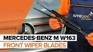 Watch our video guide about MERCEDES-BENZ Wiper blades troubleshooting