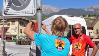 Signposting Team Swiss Epic