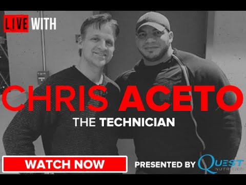 Chris Aceto Opens Up! LIVE WITH on RXMuscle.com
