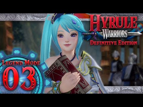 Hyrule Warriors: Definitive Edition - Part 3 - The Sorceress of the Woods (Faron Woods)