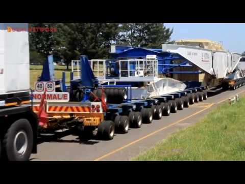 The Largest Semi Truck in the World   Nicolas Tractomas TR 10 x 10 D100