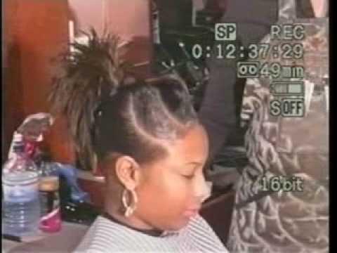 3D TWIST Up Do Hair Style