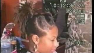 3D TWIST Up Do Hair Style