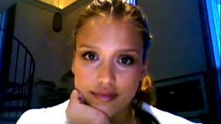 Jessica Alba stares at you for 10 hours
