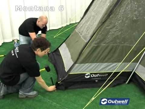 & Outwell Montana 6 - YouTube