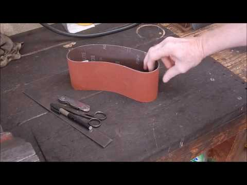 A Couple Of Sanding Belt Tricks