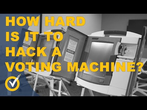 I Bought a Voting Machine Online … Then Hacked It