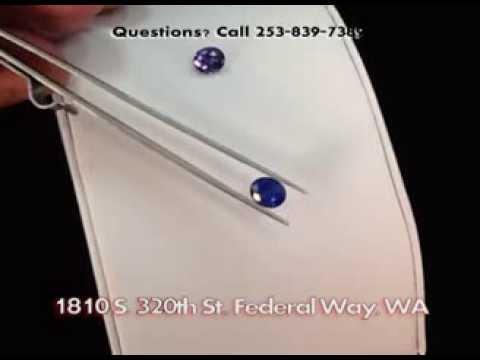 Federal Way Custom Jewelers (Federal Way WA) Rare Gems Exotic Gemstone Dealers Blue Sapphire