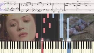 Город, которого нет - И. Корнелюк (Ноты и Видеоурок для фортепиано) (piano cover)