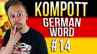 Learn German A.1 🇩🇪 Word Of The Day: Kompott | Episode 14 | Get Germanized