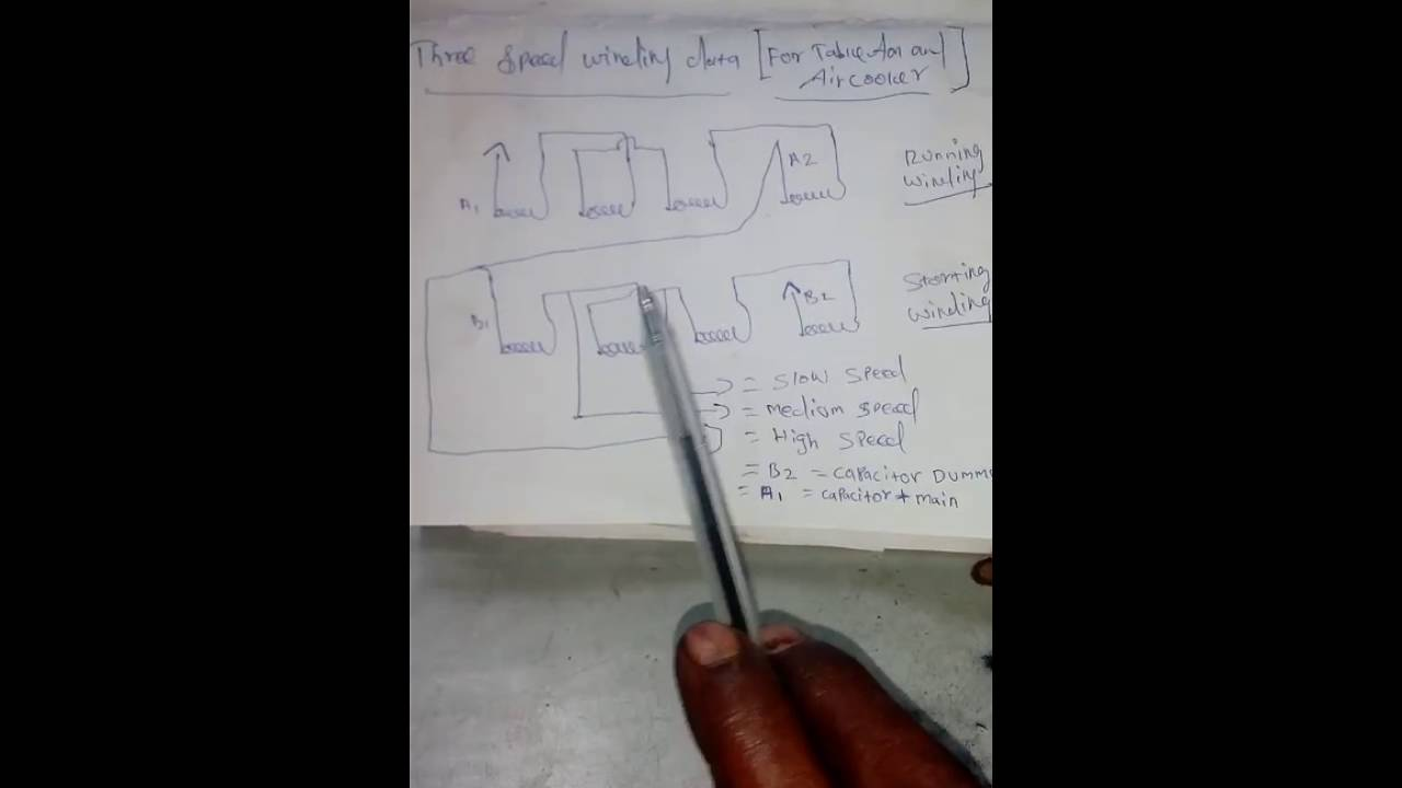 Table fan| three speed coil program|Tamil| - YouTube
