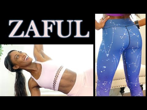 Fitness Clothing Haul! Affordable Workout Leggings, Sports Bras, Yoga Pants by Zaful