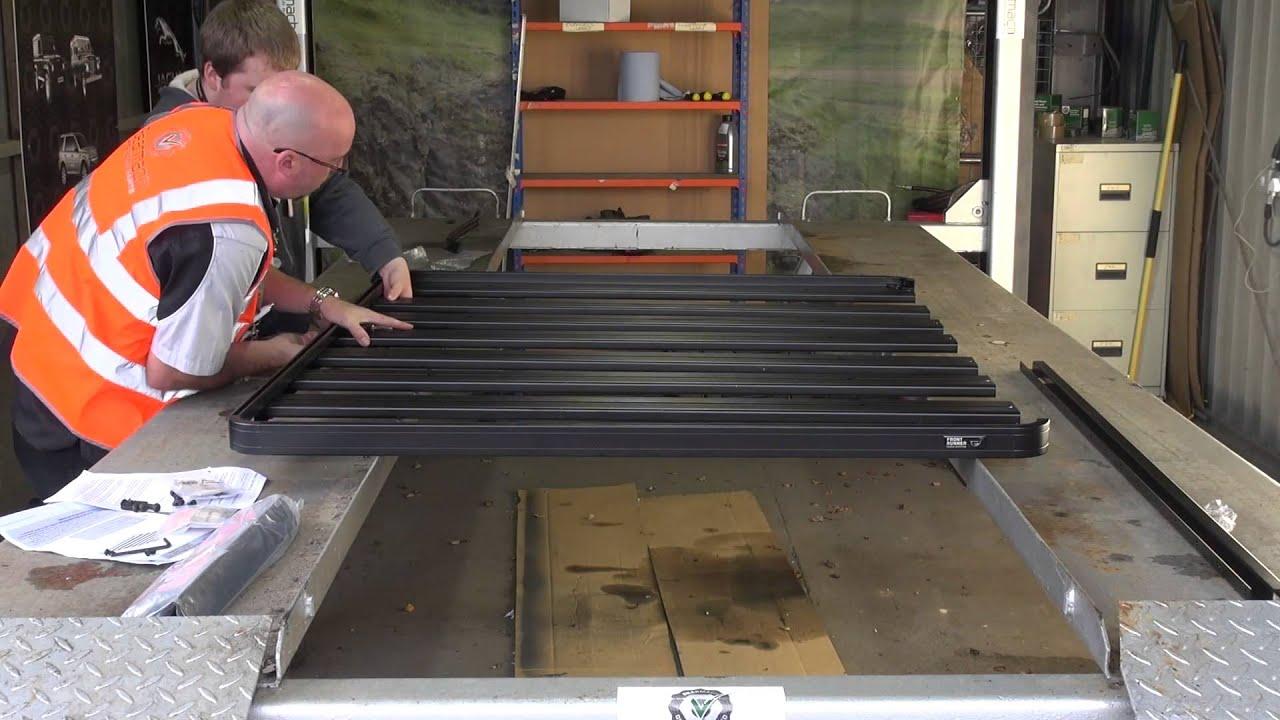 Frontrunner Slimline II Roof Rack - YouTube