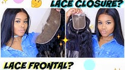 Lace CLOSURE vs Lace FRONTAL: Which is BEST for YOU? (Beginner Friendly)