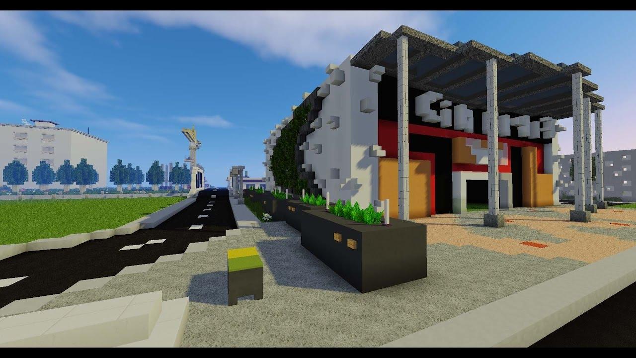 Minecraft Deco Exterieur Moderne