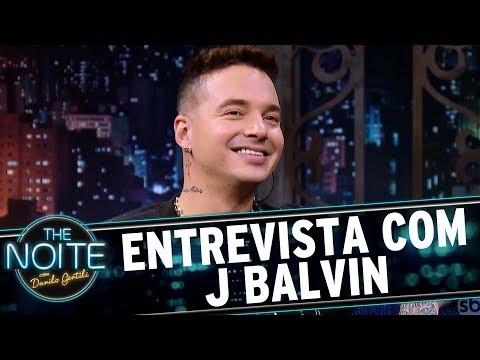 Entrevista com J Balvin | The Noite (16/08/17)