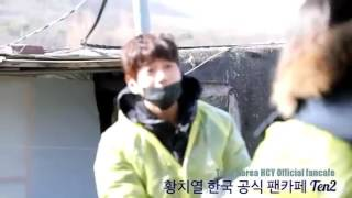 Hwang Chi Yeul doing Charity with Fans (11 02 17)