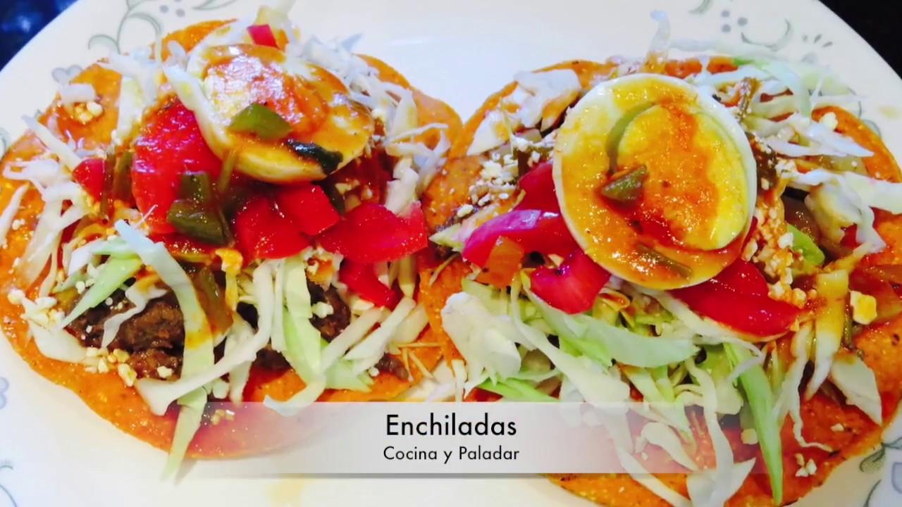 Enchiladas Hondurenas (Receta Práctica) - YouTube