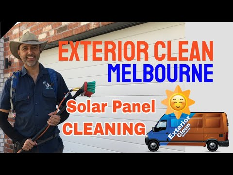 Commercial   Detailed Solar Panel Clean