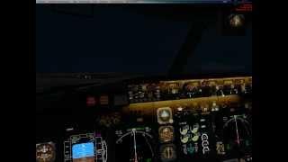 Обучение простейшего полёта по ИЛС Microsoft Flight Simulator X