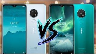 Nokia 7.2 vs Nokia 6.2 ¿CUALES SON LAS DIFERENCIAS?